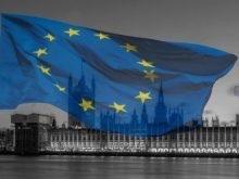 EU flag,   Brexit,