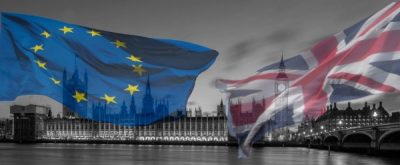 The EU and British flags may no longer fly side-by-side. PHOTO: Europabevegelse