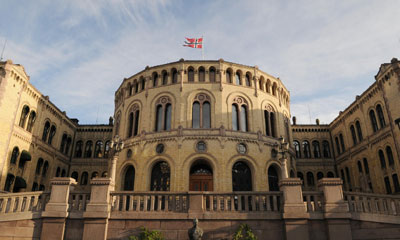 More than 75 percent of Norway's Members of Parlliament agreed to tie Norway's financial authority to the EU's. PHOTO: Stortinget