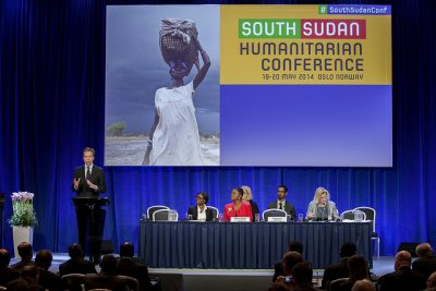 Norway also hosted a high-level conference in Oslo two years ago to raise more support for South Sudan. Now the country is on the verge of civil war again. PHOTO: Utenriksdepartementet/Espen Røst