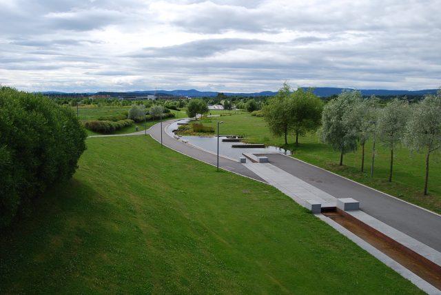Fornebu now a park