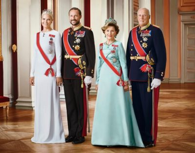 Norway's royal family faces more criticism over their hidden costs. From left: Crown Princess Mette-Marit, Crown Prince Haakon, Queen Sonja, King Harald. PHOTO: Jørgen Gomnæs/Det kongelige hoff