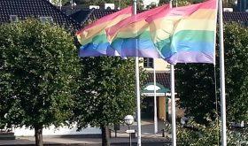 Skeive sørlandsdager, pride flags