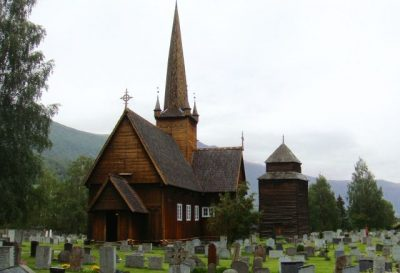Churches in Norway like this stavkirke in Vågå can be quite spectacular, but they're often empty. A vast majority view them more as historical landmarks that dot the landscape instead of a religious force in their lives. PHOTO: newsinenglish.no/Nina Berglund