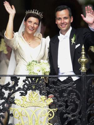 Princess Martha Louise and Ari Behn at their wedding in 2002. PHOTO: kongehuset.no/Scanpix