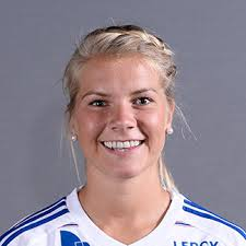 Ada Hegerberg from Sunndalsøra in Norway is Europe's female football player of the year. Her male counterpart is Christiano Ronaldo. PHOTO: UEFA