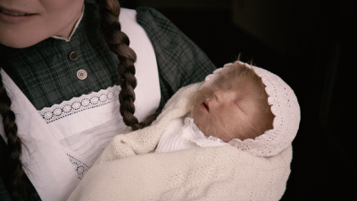 The Lion Woman film tells the story of a baby girl born covered with hair, and how she tackles the challenges her life will bring. PHOTO: Norwegian Film Institute