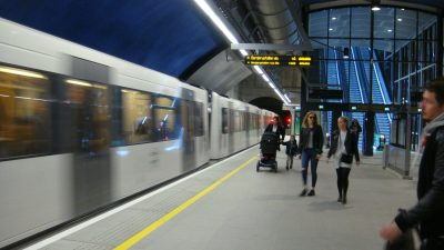 Oslo's metro system (T-bane) has already undergone major upgrading. Now its lines, along with bus and tram lines, are due to run more frequently and with more capacity. PHOTO: newsinenglish.no
