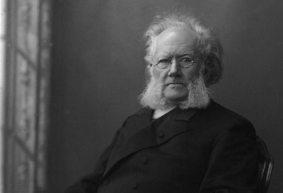 Norwegian playwright Henrik Ibsen's classic works are now being published in updated English. PHOTO: Wikipedia/Gustav Borgen