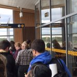 More long lines at passport control