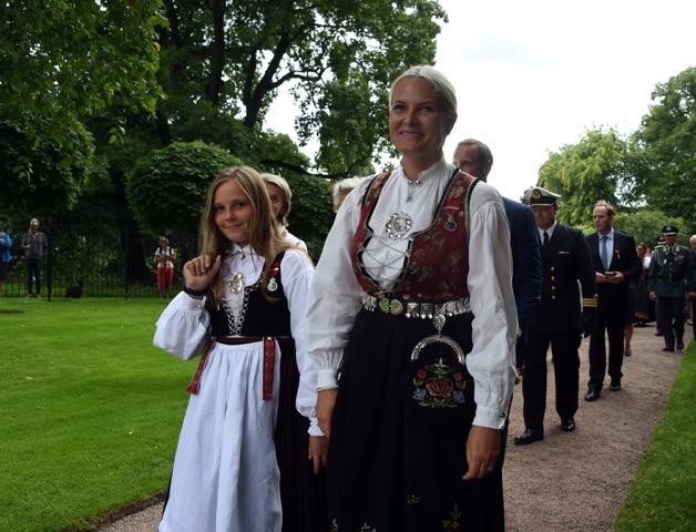 Mette-Marit, Ingrid Alexandra
