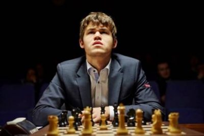 Things are looking up for Norwegian chess champ Magnus Carlsen, both at the chess board and on the silver screen. PHOTO: Moskus film/ Nordisk Film Distribusjon AS