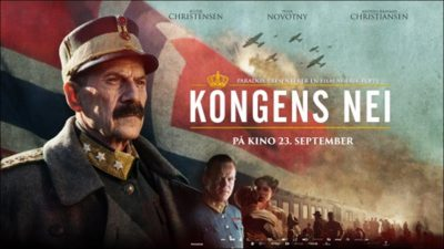 The new film about Norwegian King Haakon's refusal to surrender to invading Nazi Germany in 1940 was premiering this week. PHOTO: Norsk Film Institutt