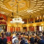 Parliament opens with full formality
