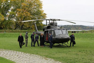 "On October 12, the Secretary of the US Air Force, Deborah Lee James, also landed in Oslo, to meet with State Secretary Øystein Bø and Defense Minister Ine Eriksen Søreide. The visits all seemed to confirm US Defense Secretary Ashton's Carter claim in September that ""the relation between Norway and the US has never been closer."" PHOTO: Forsvarsdepartementet"