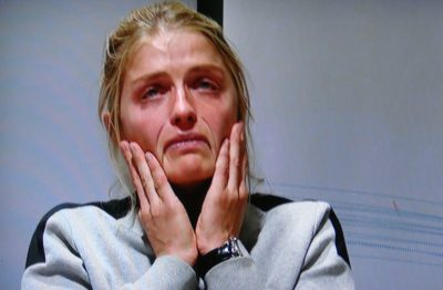 """It was painful to watch Thursday's press conference where Norwegian skiing star Therese Johaug sobbed throughout her version of how she has tested positive for a banned substance. She claimed she had """"zero guilt"""" but had landed in """"an athlete's worst nightmare"""" after relying on her team doctor's advice. PHOTO: NRK screen grab"""
