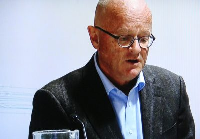 A chastened Dr Fredrik S Bendiksen announced his immediate resignation on Thursday as chief physician of the Norwegian national cross-country ski team, after giving a cream that contained an illegal steroid to skiing star Therese Johaug. Now she faces doping charges and suspension on the eve of the skiing season. PHOTO: NRK screen grab