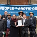 'People' sue state over Arctic oil