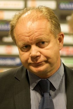 Per-Mathias Høgmo has been coaching what's widely viewed as the worst Norwegian national men's football team since the 1980s. PHOTO: Wikipedia/Kjetil Ree