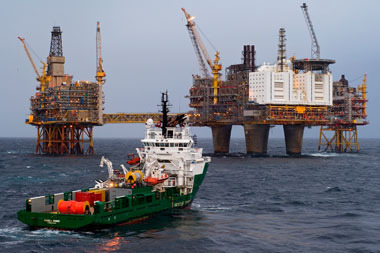 Havila is among offshore vessel owners caught in crisis, after oil prices fell dramatically. PHOTO: Havila