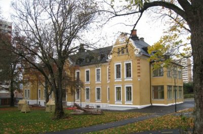 The Barneslottet (literally, 'Children's palace) day care center is housed in a recently rehabilitated building from 1900, in the Alna district on the city's east side. PHOTO: Asenso