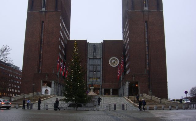 Oslo City Hall, Peace Prize Day