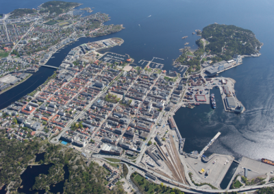 The southern coastal city of Kristiansand has been shocked by another double murder. PHOTO Wikipedia