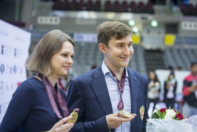 Anna Muzychuk, Sergey Karjakin