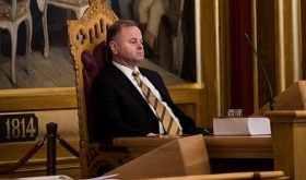 Parliament's boss under fire again