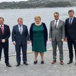 Solberg echoes Merkel on NATO