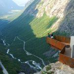Rockslides threaten famed 'Trollstigen'