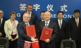 Norwegian ministers stream to China