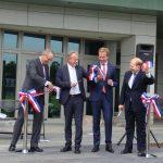 Embassy ribbon cut as US ties upheld