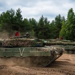 Norwegian troops arrive in Lithuania