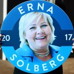 Early returns show Solberg winning