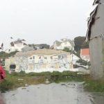 West Coast under deluge of rain, hail