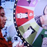 TV program leader confronts her critics
