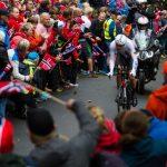 Cycling fans 'go wild' in Bergen