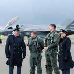 Royal welcome for new fighter jets