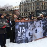 Thousands rallied to protect wolves