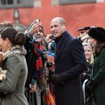 British royals turn on the charm