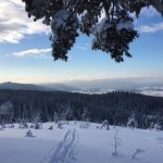 Snow and skiers bring the hills alive