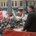 May Day dissolved into political attacks