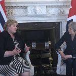 Solberg caught in Britain's quarrel