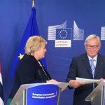 Solberg willing to take in EU migrants