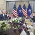 Stoltenberg tested as NATO drama began