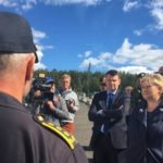 Solberg stresses security
