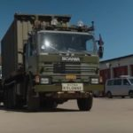 Here comes NATO: Convoys hit the road