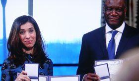 Standing ovations for Nobel Laureates