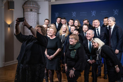 Solberg Sets Record With New Cabinet